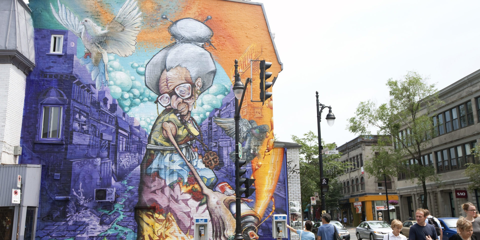 Paint the town with mural festival tourisme montr al for Air climatise mural montreal